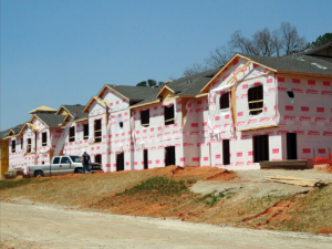 The  Timber Spring senior living  apartments will have 48  units and should be ready  by December. Pre-leasing  starts in September