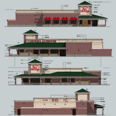 Carolina Ale House Exterior Design
