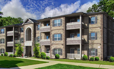 Large apartment complex adds to housing market in Garner