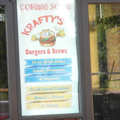 Krafty's Burgers and Brews