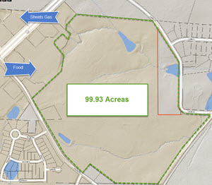 New Subdivision off Ten Ten Rd Near 401 Seeks Rezoning