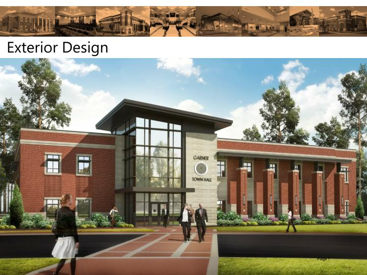 Town Hall Renderings