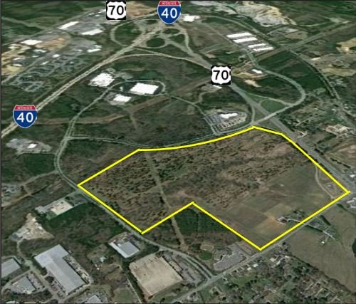 The state of North Carolina has determined that the Garner Industrial Site in Greenfield Park South is 'shovel ready.'