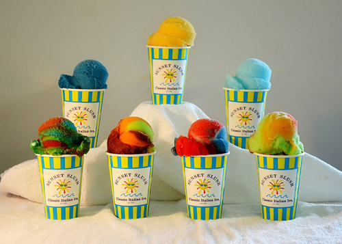 SUNSET SLUSH ITALIAN ICE gets Permit
